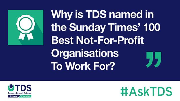 TDS Sunday Times 100 Best Organisations