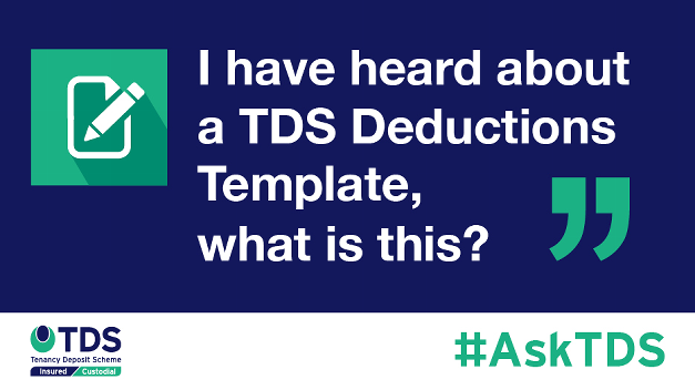 "#AskTDS: ""I have heard about a TDS Deductions Template, what is this?"""