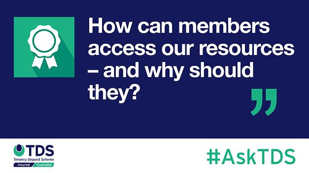 #AskTDS: How can members access our resources – and why should they?