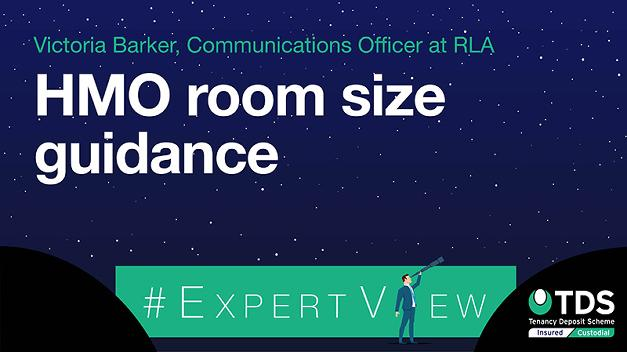 #ExpertView: HMO room size guidance
