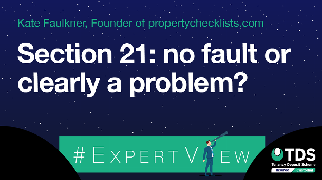 Image saying Section 21: no fault or clearly a problem?