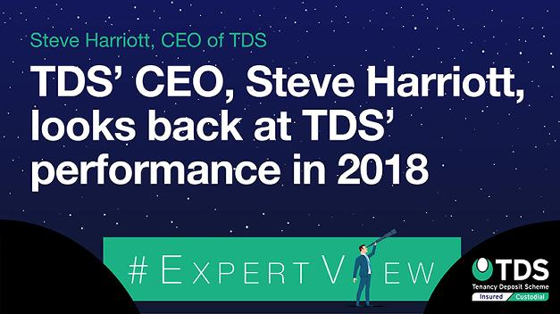 #ExpertView: TDS' CEO, Steve Harriott, looks back at TDS' performance in 2018