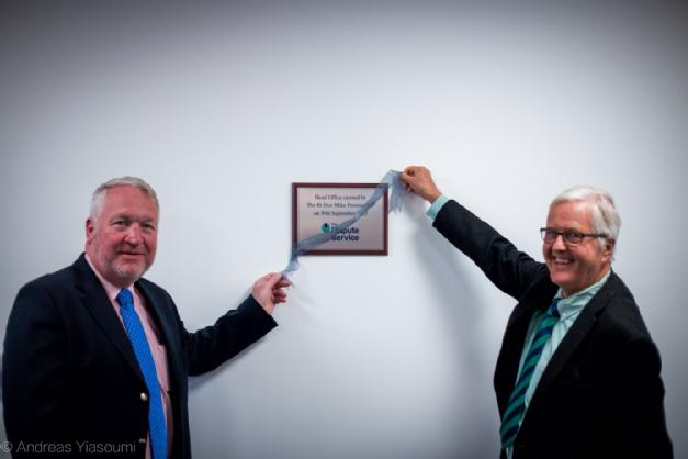 The Rt Hon Mike Penning MP opens new TDS headquarters